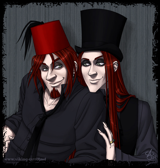The Lestrange Brothers by madcarrot