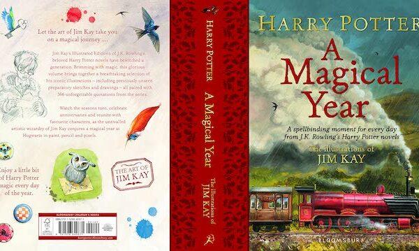 ハリー・ポッター年間の出来事イラスト版書籍、登場【英語版】
